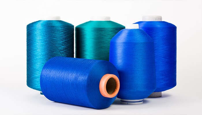 Synthetic Package Dyed Yarn